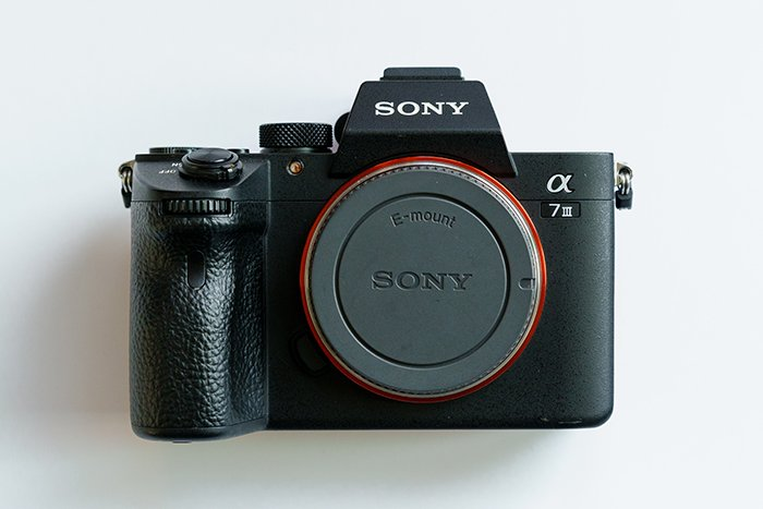 Image of a Sony A7 III