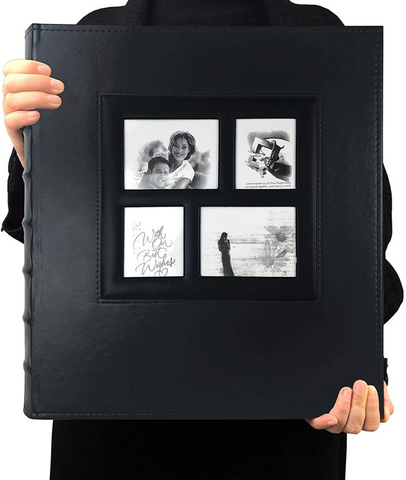 A personalised photo gift album