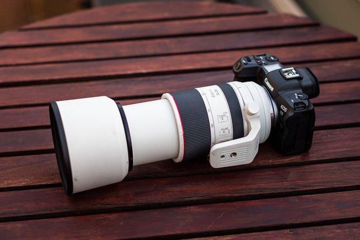 Image of the Canon RF 70-200mm f/2.8L IS USM on a Canon EOS R5