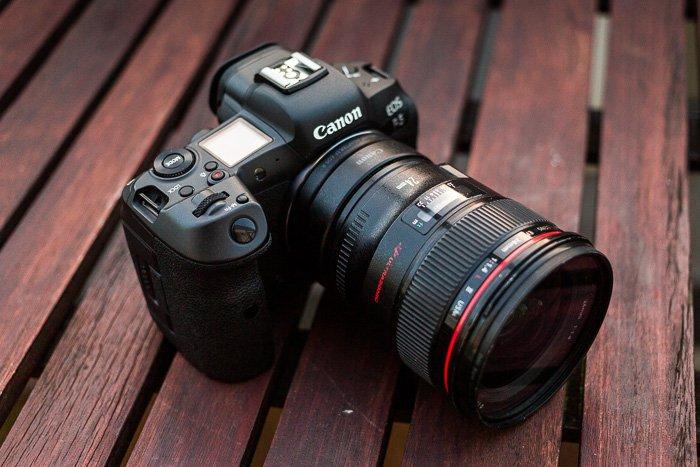 Image of the Canon EOS R5 camera