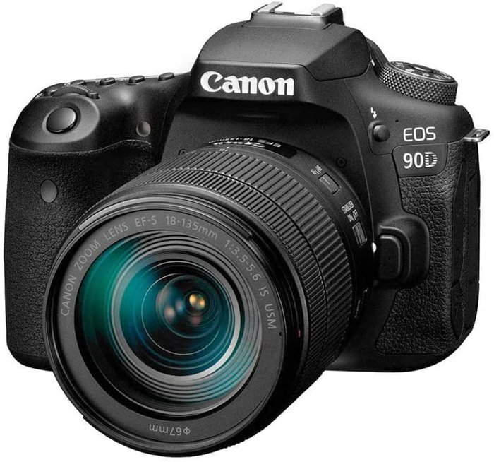 Image of the Canon EOS 90D for deep sky astrophotography