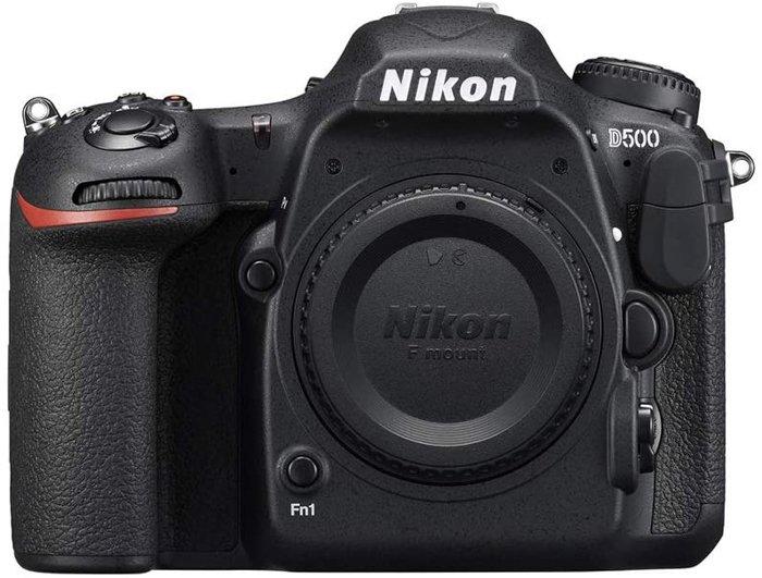 Image of the Nikon D500 camera