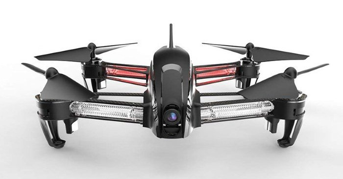 a photograph of a drone