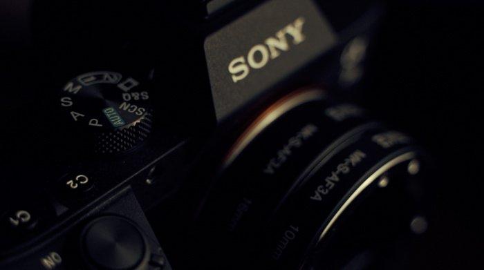 Imagem de uma câmera sem espelho