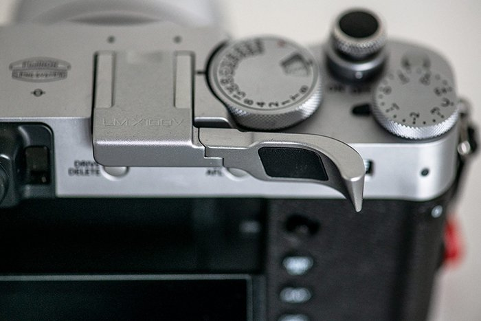 Image of the Fuji X100V compact camera