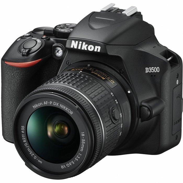 An image of a Nikon D3500 camera