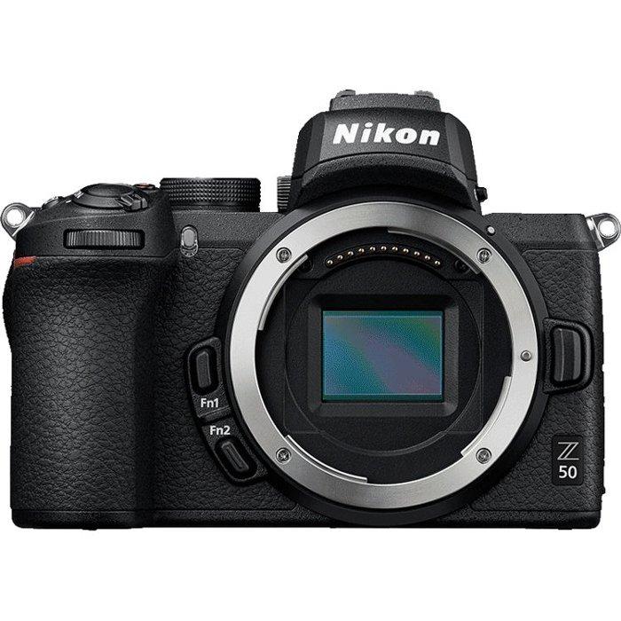 An Image of the Nikon Z50