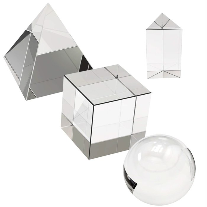 A picture of a photography prism set.