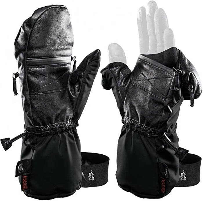 Image of the The Heat Company Heat 3 Smart photography gloves
