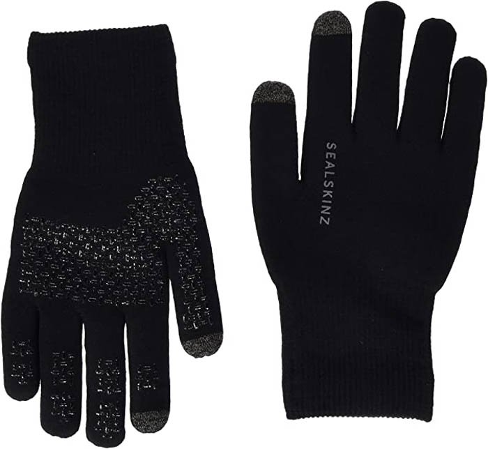 Image of the SealSkinz Ultra Grip Knitted Gloves photography gloves