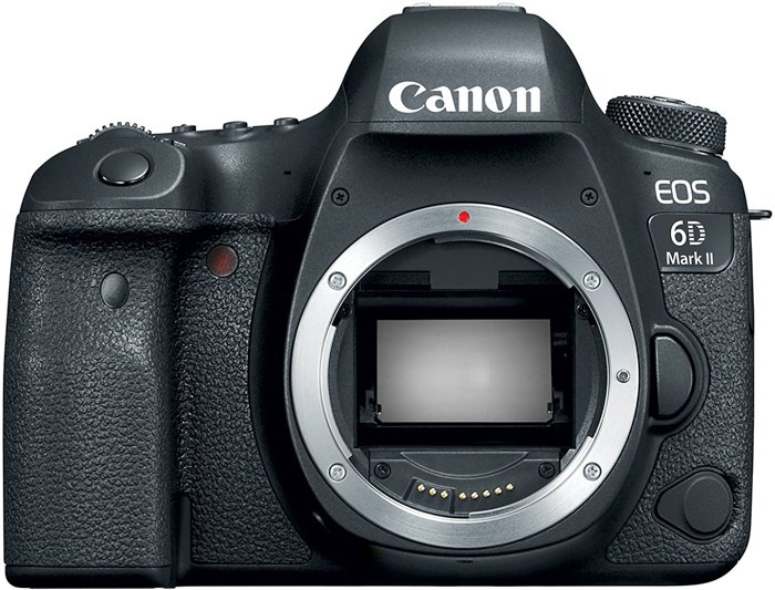 canon EOS 6D Mark II camera for portraits