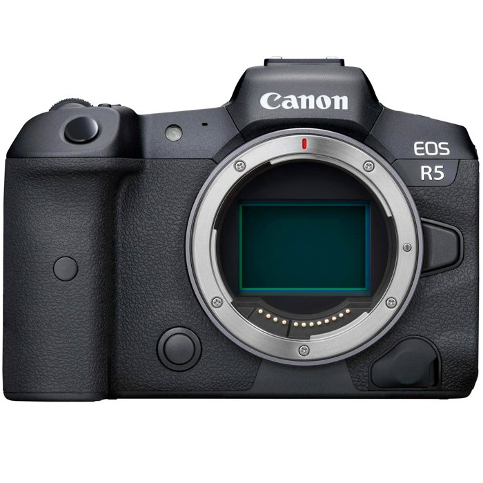 An image of the Canon EOS R5