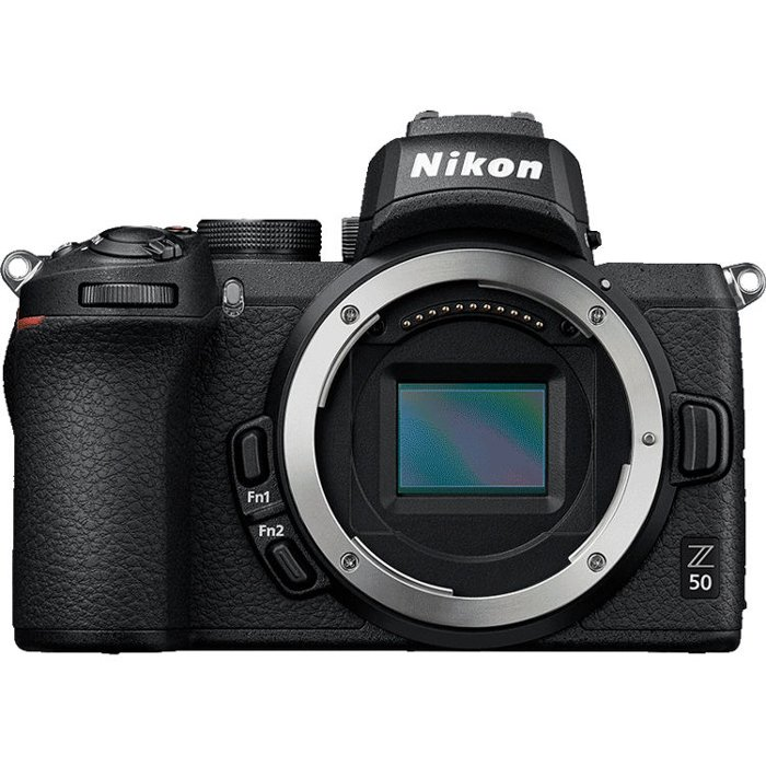 An image of the Nikon Z50 best camera for portraits