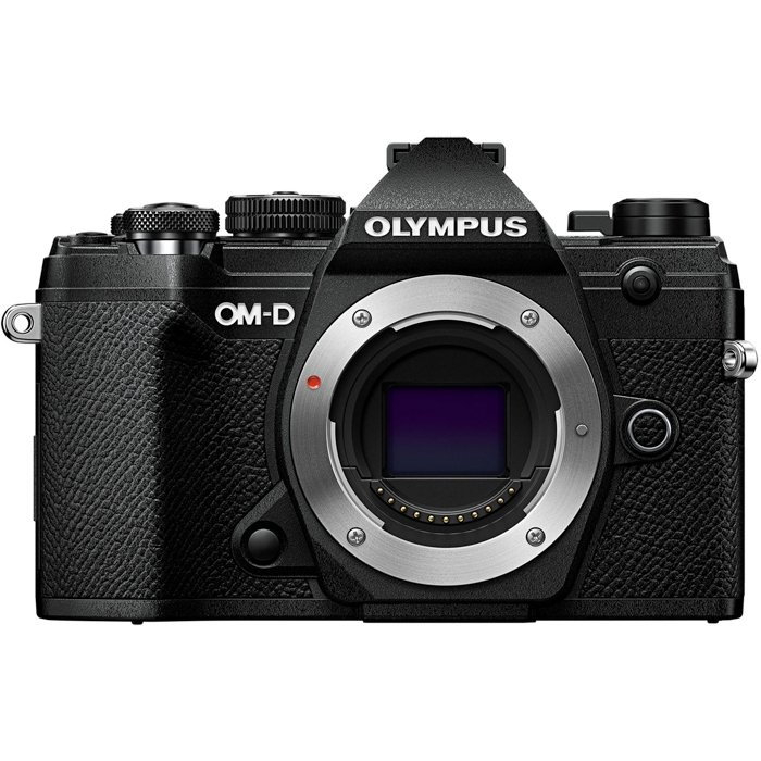 An image of the Olympus OM-D E-M5 Mark III camera for photography