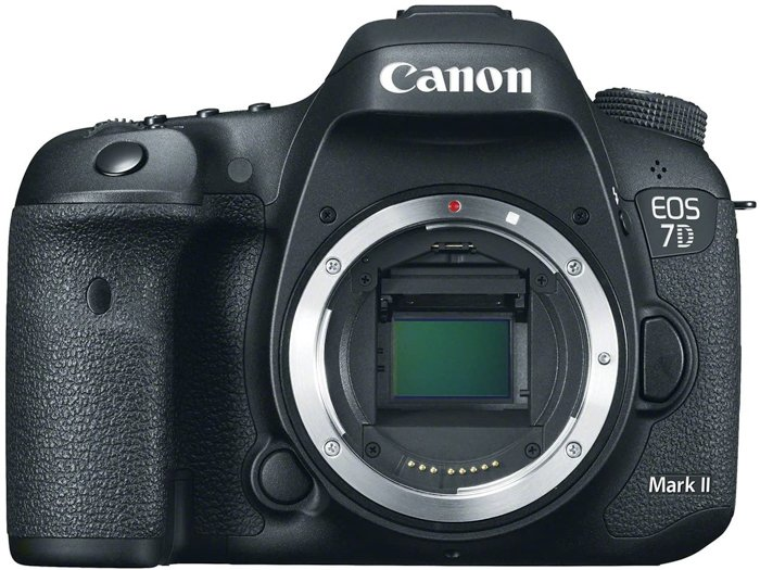 An image of a Canon 7D Mark II camera for portraits