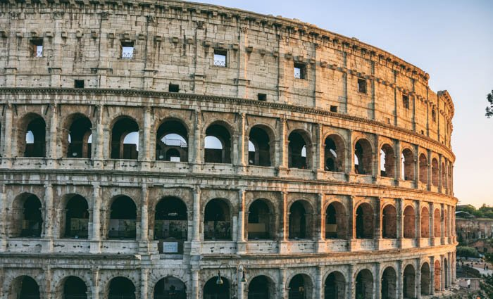 A travel image of Colosseum in Rome