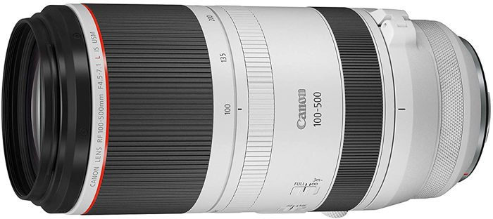 Image of the Canon RF 100-500mm f/4.5-7.1L IS USM