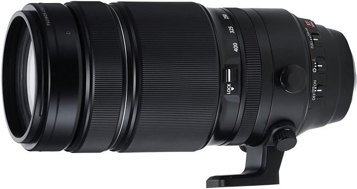 Image of the Fujifilm XF 100-400mm f/4.5-5.6 R LM OIS WR telephoto zoom lenses