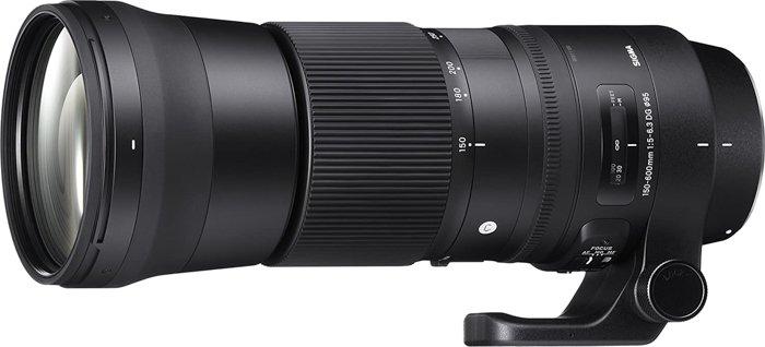 Image of the Sigma 150-600mm f/5-6.3 DG OS HSM super telephoto lenses