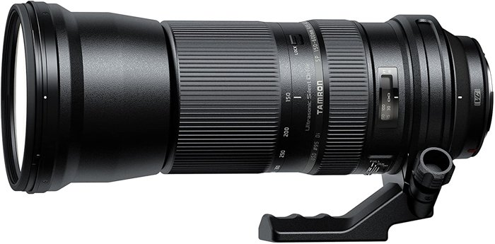 Image of the Tamron SP 150-600mm f/5-6.3 Di VC USD wildlife telephoto lens