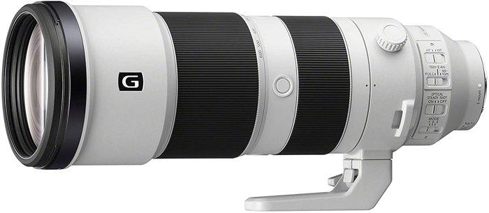 Image of the Sony FE 200-600mm f/5.6-6.3 G OSS super telephoto zoom lens