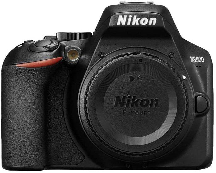 An image of the Nikon D3500