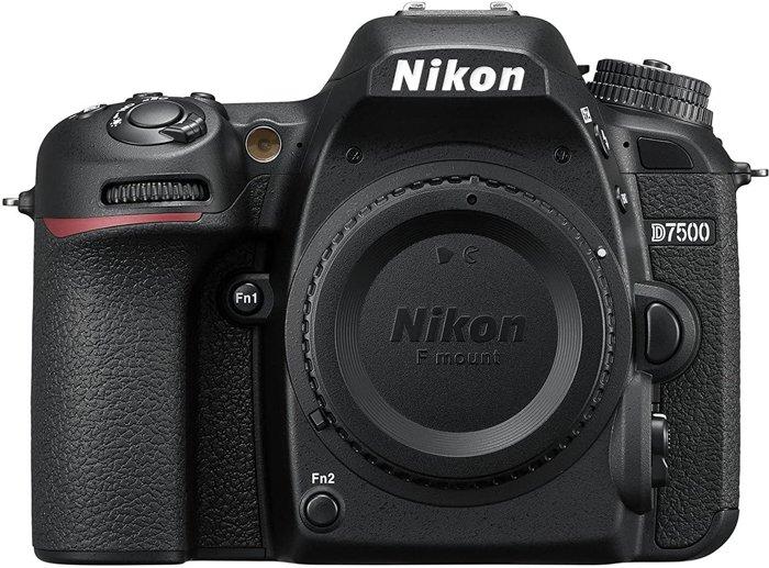 An image of the Nikon D7500