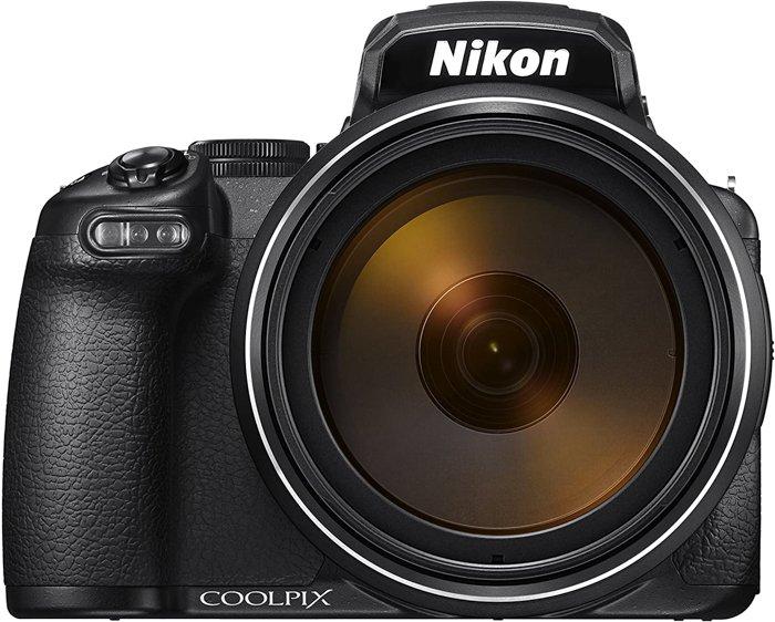 An image of the Nikon P1000 compact camera