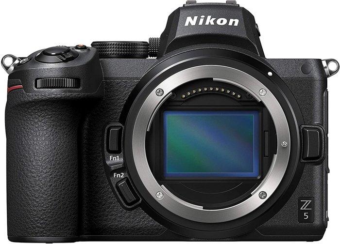 An image of the Nikon Z5 camera