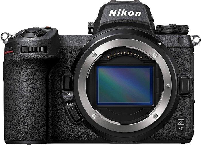 An image of a Nikon Z7 II mirrorless camera