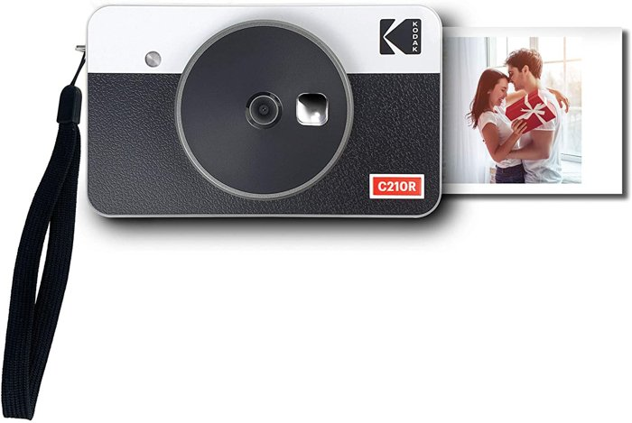Image of the Kodak Mini Shot 2 Retro camera and portable photo printer