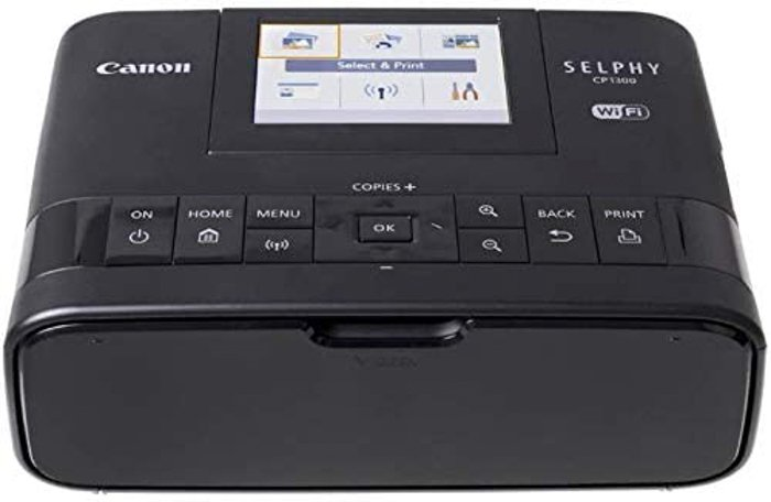 Image of the Canon Selphy CP1300 Wireless Photo Printer for iPhone