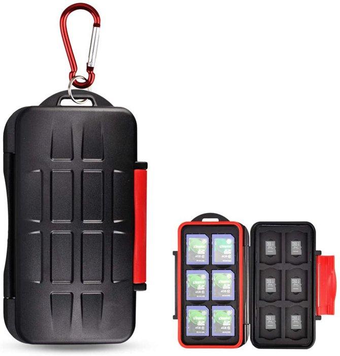 Image of the Kiorafoto Professional Water-Resistant Anti-Shock Memory Card Holder