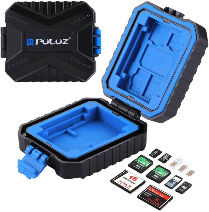 Image of the Puluz Water-ResistantMemory Cards Case