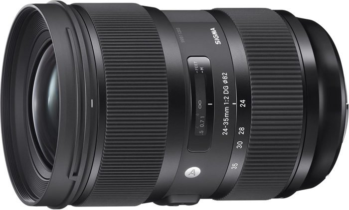 Image of the Sigma 24-35mm F2 DG HSM A