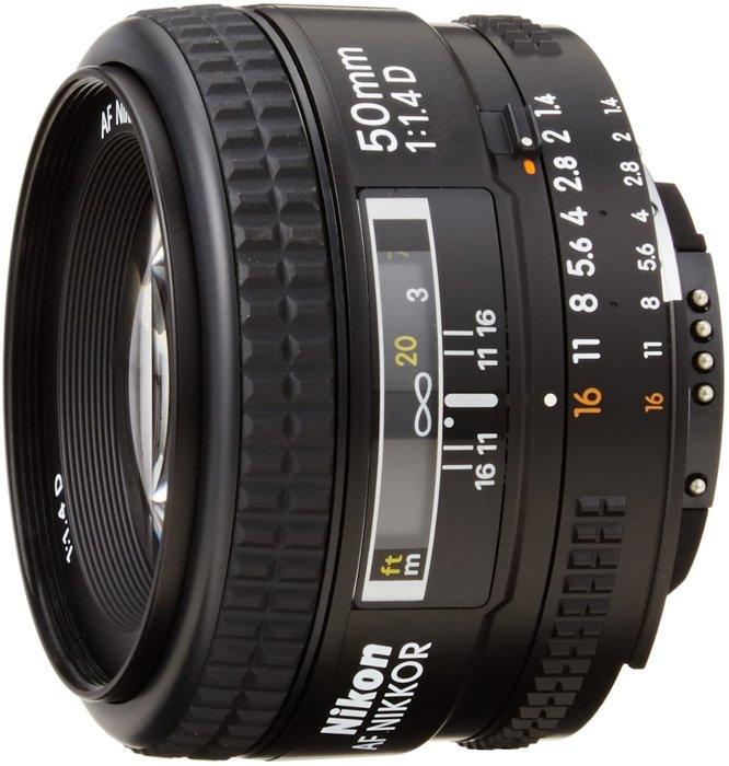 Image of the Nikon AF Nikkor 50mm f/1.4D