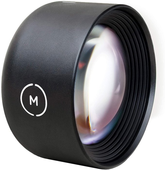 an image of a 58mm Moment Tele Lens
