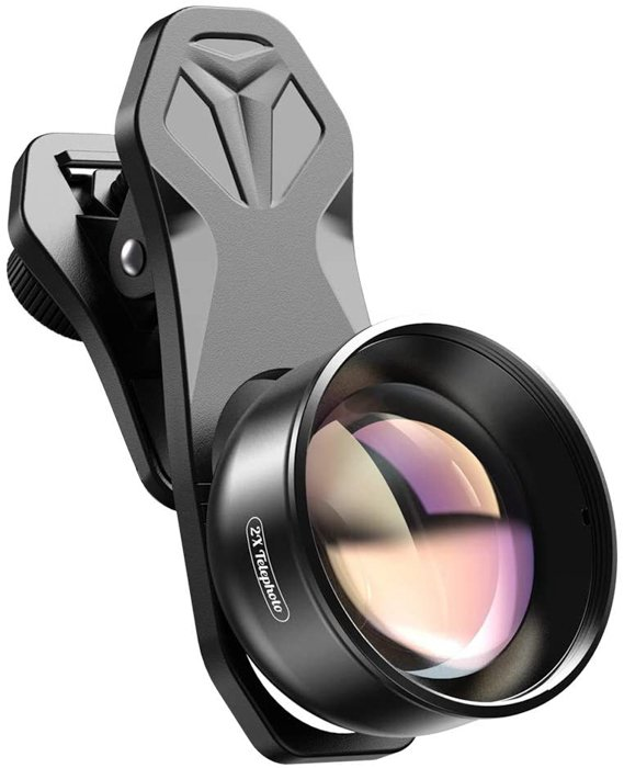 an image of a Apexel 2x Telephoto Lens