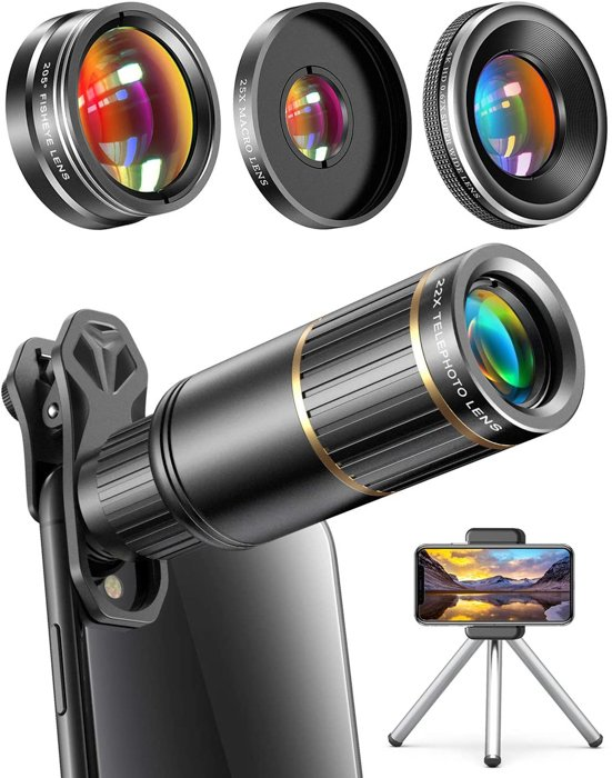 an image of the CoPedvic Phone Camera Lens kit