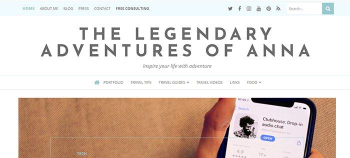 screenshot the legendary adventures of anna