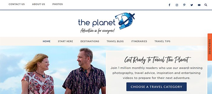 screenshot the planet d, best blogs for travel photographers