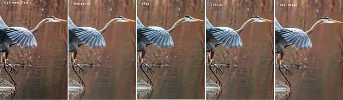 heron noise reduction comparison plug-ins
