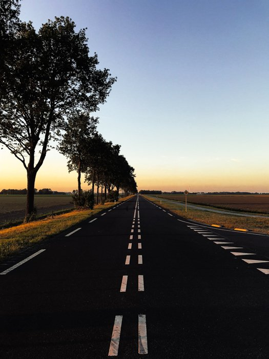 a photo of a road as example of a photography path