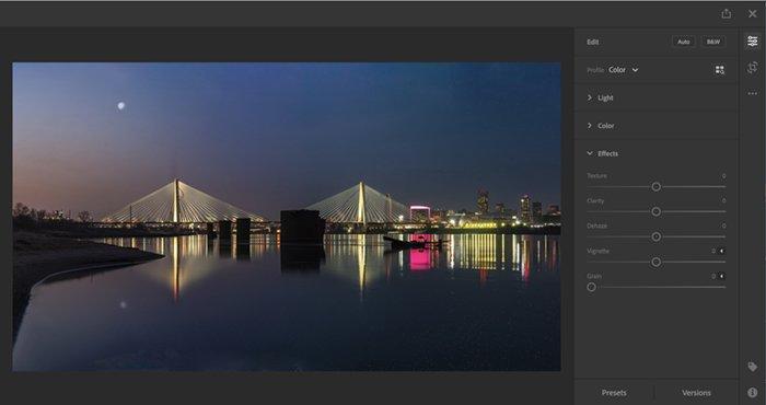 Screenshot lightroom browser version