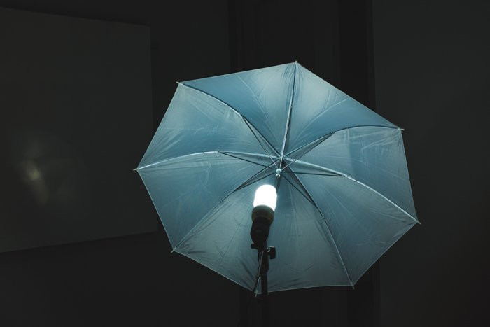 umbrella with silver lining