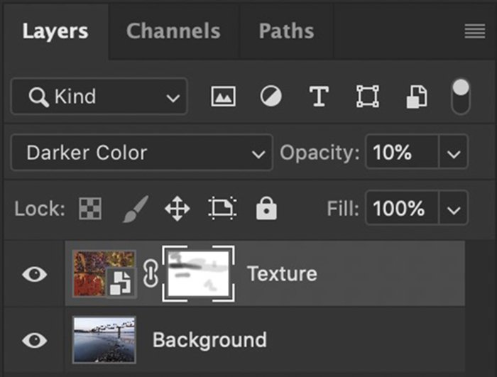 Photoshop layers panel new layer mask