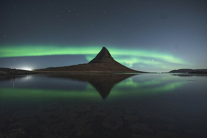 kirkjufell northern lights in iceland as one of the best places for photography in the world