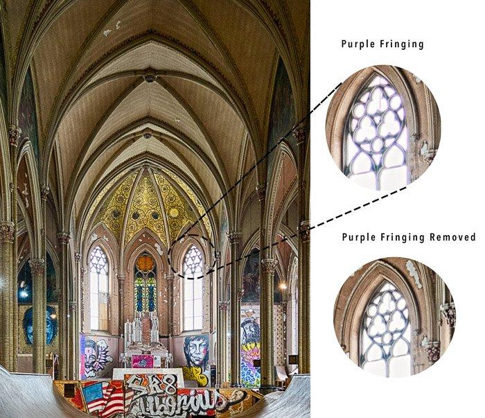 彩色省略例子教堂窗户
