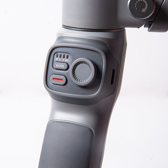 the handle of a Zhiyun Smooth Q3