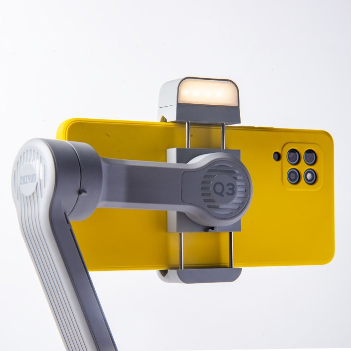an image of the fill light on the Zhiyun Smooth Q3